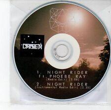 (EG918) Draper, Night Rider ft Phoebe Ray - 2013 DJ CD