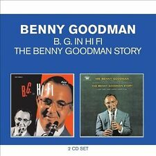 Classic Albums: The Benny Goodman Story/B. G. in Hi Fi by Benny Goodman (CD, 1995, 2 Discs, EMI)
