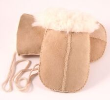 GENUINE SHEEPSKIN BABY MITTENS