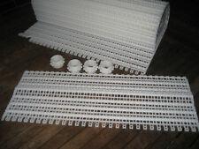 Modulband Modulbänder 50 cm breit 250 cm lang NEU Vliesfilter Förderband Zahnräd