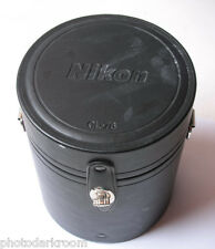 """Nikon CL-76 Lens Case - OUT 5.5 x 7"""" - No Strap - IN 4.75x4.5"""" China USED C68 FS"""