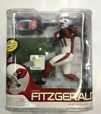Mcfarlane NFL 27 Larry Fitzgerald Silver Level #9 of 1000 Arizona Cardinals