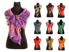 Bufandas y pañuelos de mujer de color principal rosa de seda