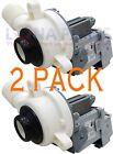 (2 PACK) Whirlpool W10276397 Washer Drain Pump AP4514539 PS2580215 photo
