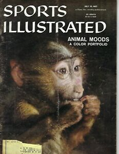 1957 Sports Illustrated magazine Animal Moods, Monkey, Althea Gibson tennis FAIR
