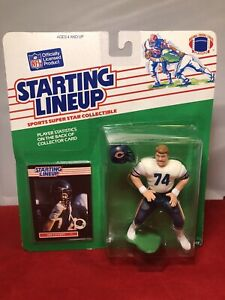 Kenner 1989 Starting Lineup SLU Jim Covert Chicago Bears NFL Figure RARE READ!
