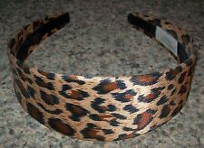 Leopard Wide Headband non-slip Hairband - EUC
