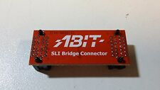 ABIT SLI Bridge RED Connector model: 3144-0000-31 per Scheda Video ★ A416 ★