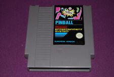 PINBALL European Version - Nintendo - Jeu Flipper NES DAS EEC