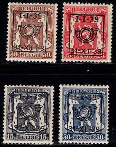 Belgium 1939 MNH 100% coat of arms precancelled