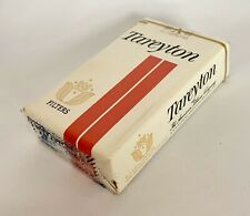"""Vintage Tareyton Cigarettes """"empty"""" Soft Pack Package Sign Display Only"""