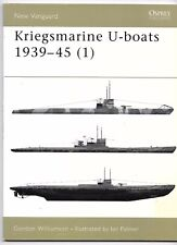 Osprey Vanguard 51, Kriegsmarine U-boats 1939-45 I,  Softcover Reference FN  ST