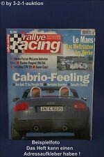 Rallye Racing 5/99 Audi TT Lotus Elise Jaguar XK8