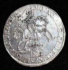 """Netherlands: Overyssel. Provincial Ducaton 1734, """"Silver Rider"""". Choice AU."""