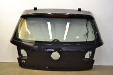 MK6 VW GTI Golf R Hatch Lid Panel Trunk W/ Glass Black Magic Pearl Oem 2010-2014