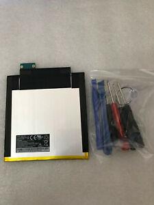 New Battery SQU1408 4900mAh 3.7V for Verizon Ellipsis 8 Tablet +tool