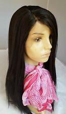 Lace Front or Ombre Long Wig Straight Curly Wavy Lob Tousle Black Brown Blonde