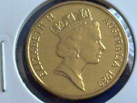 1989  AUSTRALIAN  1 DOLLAR UNC=EX.MINT UNC SET