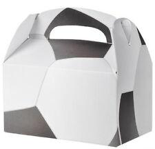 36 SOCCER  PARTY TREAT BOXES FAVORS GOODY BAG  PRIZE GIFT BASKET 3 DOZEN