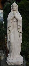 MADONNA MUTTER GOTTES HEILIGENFIGUR Maria weiß Groß 49 cm