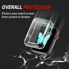 Protection Complète Rayure Résistance Transparent Étui pour Apple Montre 2 3 4