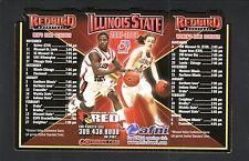 Illinois State Redbirds--2007-08 Basketball Magnet Schedule