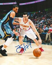 KIRK HINRICH signed ATLANTA HAWKS 8X10 PHOTO COA
