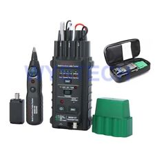 Mastech Ms6813 Network Cable Tester Telephone Line Detector Tracker Rj45 101base