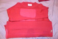 VINTAGE ARMANI JEANS maglione AJ 50 grande terrazza Classico Casual da collezione
