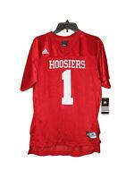 Adidas Indiana University Hoosiers Football Jersey XL 18-20 Boys New