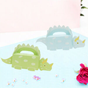 Dinosaur Party Favor Boxes Candy Sweet Treat Bags Baby Shower Birthday 20pcs