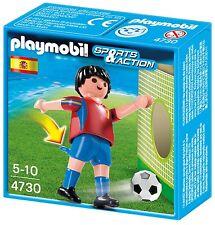 Playmobil 4730 - FUTBOLISTA ESPAÑA NUEVO CAJA orig.
