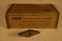 Surplus NOS TRW VNMP 642 Inserts Lot of 9 Pieces