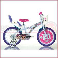 Bicicletta Bambina LOL Surprice 16 Pollici 4 5 6 7 Anni Rotelle Freni Bici Bimba