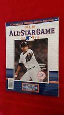 2013 MLB All-Star Game program / New York / Harper / Ortiz / Rivera / Trout