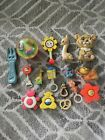 Lot+Of+16+Vintage+Baby+Toys+Disney+Fisher+Price+Rattles+Teether+Bells+Squeaky