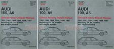 AUDI 100 A6 SHOP MANUAL SERVICE REPAIR BOOK BENTLEY ROBERT 1992-1997