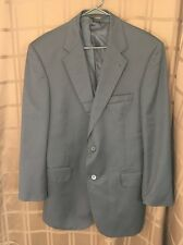 JOS A BANK Signature Gold Black Wool 2 Button Full Lined Blazer Mens 41R