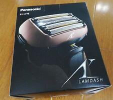Panasonic LAMDASH ES-LV7F-T Brawn 5Blades Wet/Dry with Auto Cleaning and Charger