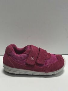 Stride Rite Toddlers' Soft Motion Mason, Pink Athletic Sneakers, Girls' Size 4.5