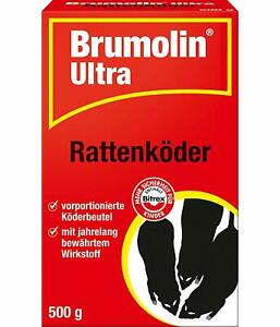 Ph Brumolin 500 G Ultra Rat Auslegfertige Köderbeutel