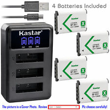 NP-BX1 Battery or Triple charger for Sony Cyber-shot DSC-WX300 WX350 WX500 RX1R
