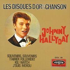 CD de musique album chanson Johnny Hallyday