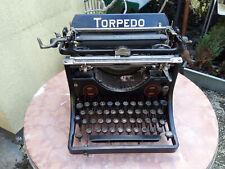 Torpedo Modell 5 Schreibmaschine  1918 typewriter maquina de escribir  zur DEKO