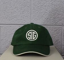 Sig Sauer Firearms SIG Logo Embroidered Ball Cap Hat Gun Rights New