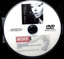 FIONA APPLE Shadowboxer Promotional Record Company Music Video DVD (NOT A CD)