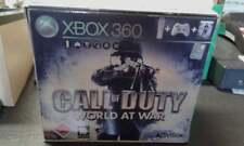 SOLO SCATOLA BOX Microsoft Xbox 360 bianca bundle call of duty wordl at war