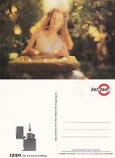 ZIPPO UNUSED COLOUR ADVERTISING POSTCARD