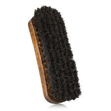 Spazzola da Scarpe in Crine di Cavallo Nera Antigraffio Per Lucidare le Scarpe