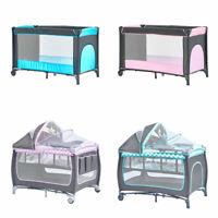 Foldable Baby Travel Infant Bedside Bassinet Crib Nursery Carrier Sleeper Basket